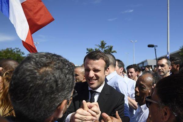 Macron La Réunion