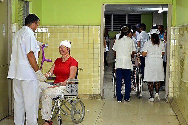Personnel soignant à Cuba
