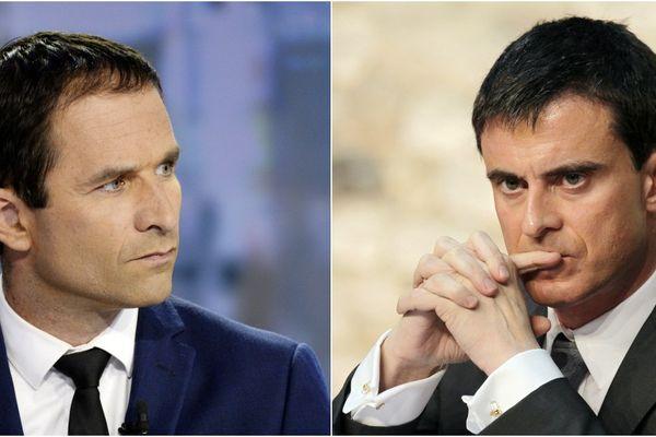 Benoit Hamon, Manuel Valls