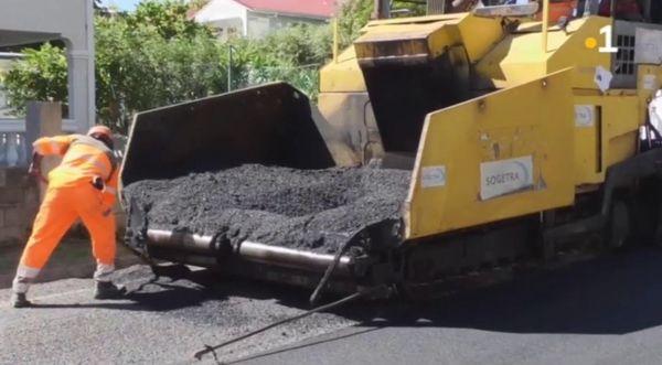 Réfection des routes de Saint-Martin - 04.12.2020