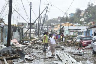 La Dominique dévastée par l'ouragan Maria