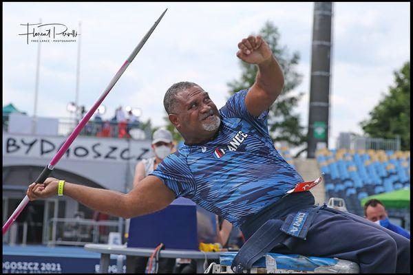 Thierry Cibone, championnats europe handisport, juin 2021