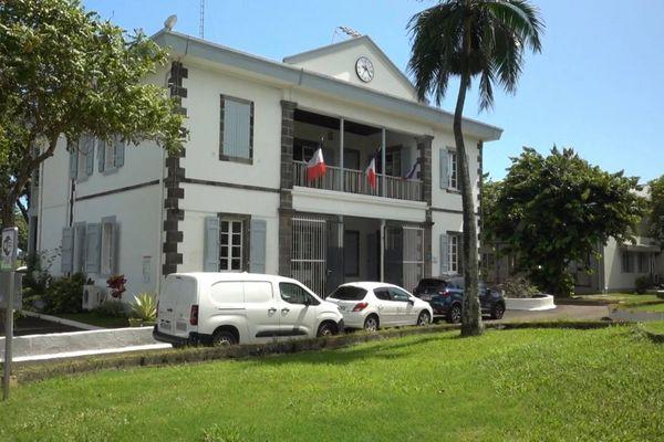 La mairie de Sainte-Marie.