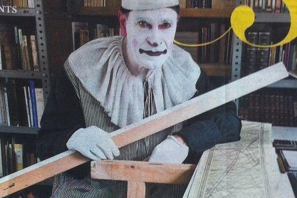 Cirque Raluy : clown mathématicien