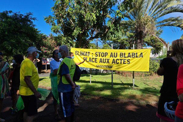 Marche pour le climat à Saint-Pierre