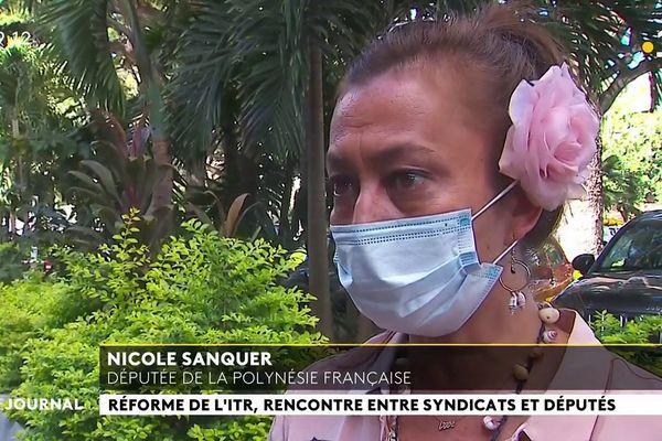 La députée Nicole Sanquer demande le gel de la réforme de l'Indemnité Temporaire de Retraite