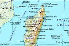 Canal de Mozambique et Madagascar