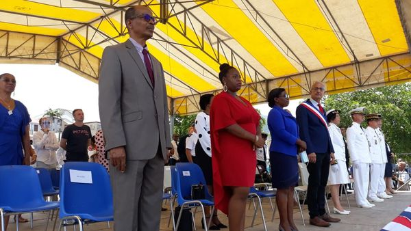 Elus cérémonie 14 juillet fête nationale