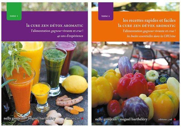 Grâce à son passé de scientifique, Miguel a co-écrit deux ouvrages sur l'alimentation crue