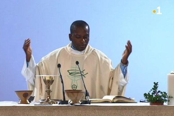 Père Jean originaire d'Haïti