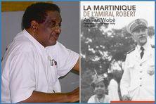 """Conférence sur """"la Martinique de l'Amiral Robert - """"An tan Wobè"""" avec l'historien Gilbert Pago."""