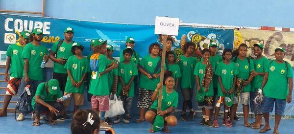 Coupe Yeiwene, 29e édition, participants d'Ouvéa, 27 janvier 2020