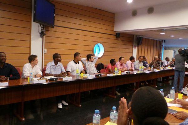 Les membres du Conseil d'administration de l'Uag