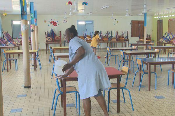 Nettoyage école