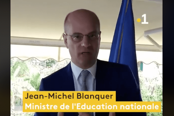 Blanquer jeunesse Mayotte