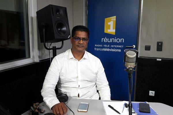 Jean-Bernard, président de la FNTR-Réunion