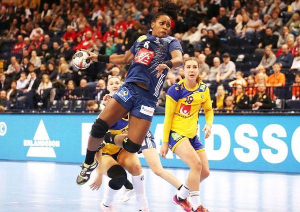 Laurisa Landre face à la Suède Mondial 2017