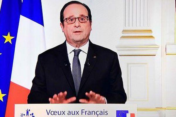 Voeux de François Hollande 2017