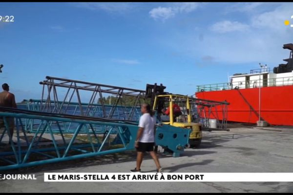 Le Maris Stella IV de retour aux Tuamotu