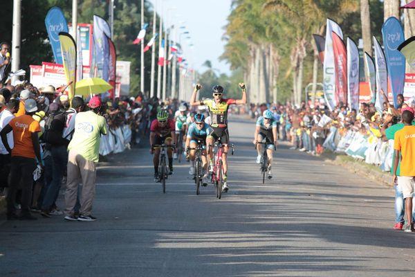 Seppe Vangheluwe vainqueur de la 7è étape