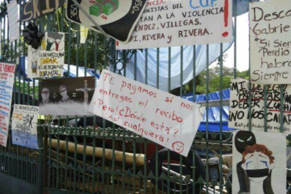 Grève à l'Université de Porto Rico