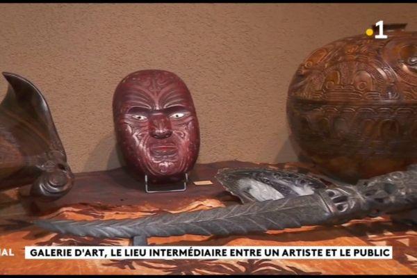 Galeries d'art, des écrins pour la création polynésienne