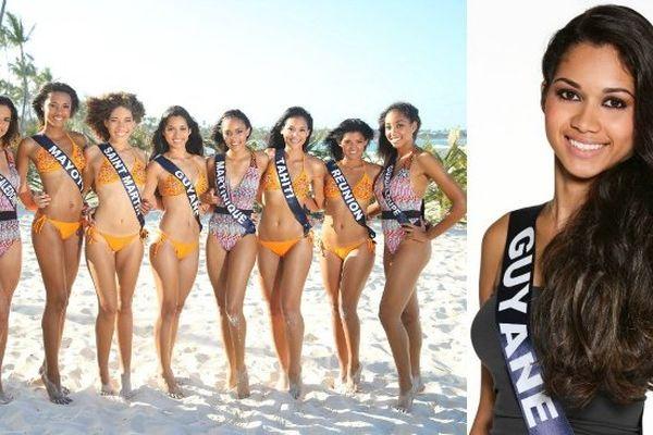 Miss Guyane et miss Outre-mer