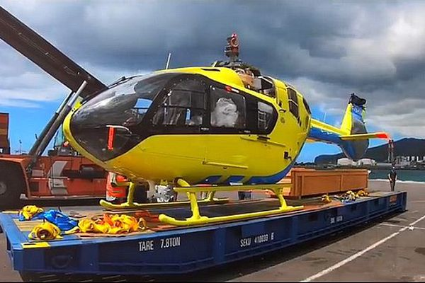 Hélicoptère du Samu novembre 2018