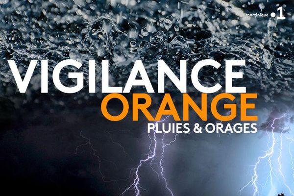 Vigilance Orange pluies & orages