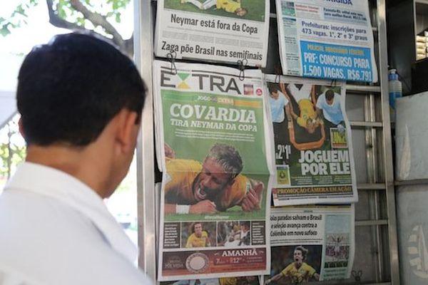 Presse Brésilienne / Neymar