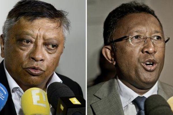 Election présidentielle à Madagascar: les 2 candidats du second tour