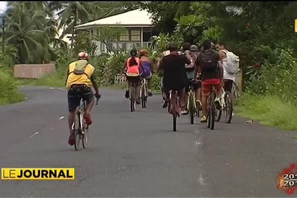 Un tour de l'île en vélo pour dire non à la violence