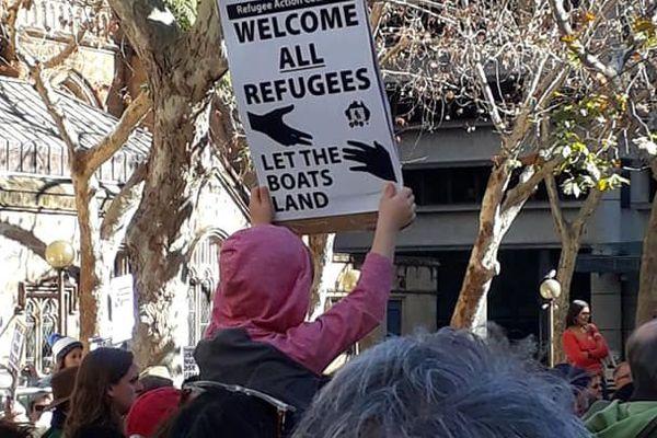 Manifestation contre la politique australienne d'immigration, 21 juillet 2018