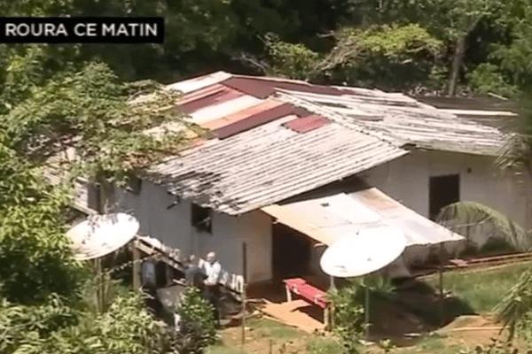La maison où s'est déroulé le crime de Roura