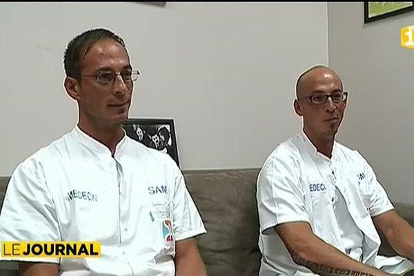 Portraits : les jumeaux urgentistes de l'hôpital