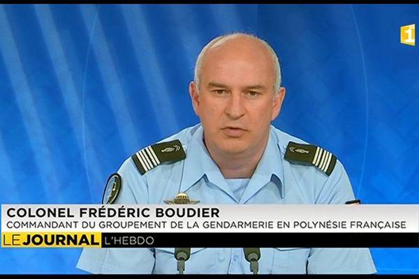 Frédéric Boudier : nouveau patron de la gendarmerie en Polynésie Française