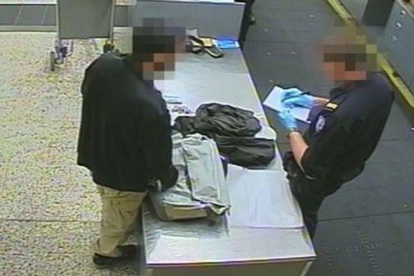 Image d'une caméra de surveillance de l'aéroport de Melbourne