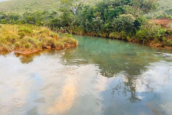 pollution rivière kwé goro