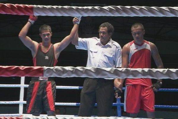 championnat de boxe