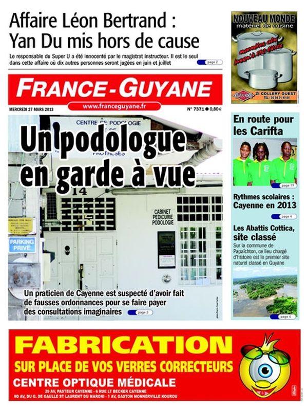 Une France Guyane 27 mars