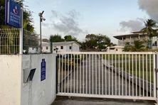 Le siège de la direction de la douane à Cluny (Fort-de-France).