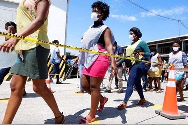 Les ouvrières couturières d'Haïti