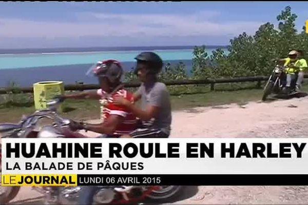 Huahine roule en Harley : la balade de Pâques