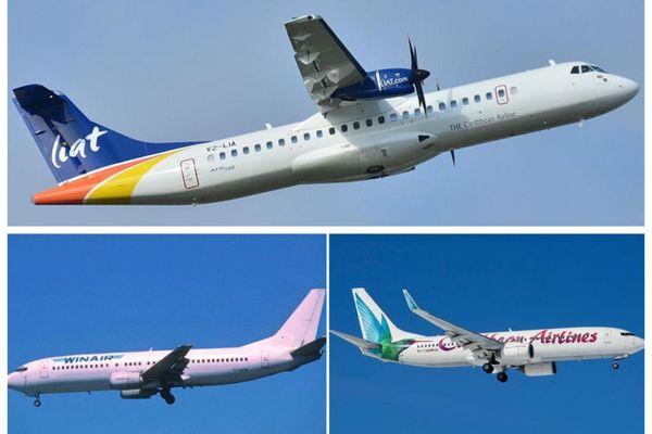 Liat / Winair / Caribbean Airlines