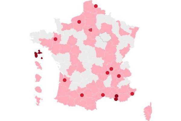 coronavirus covid nouveau classement intensité épidémie zone d'alerte 240920