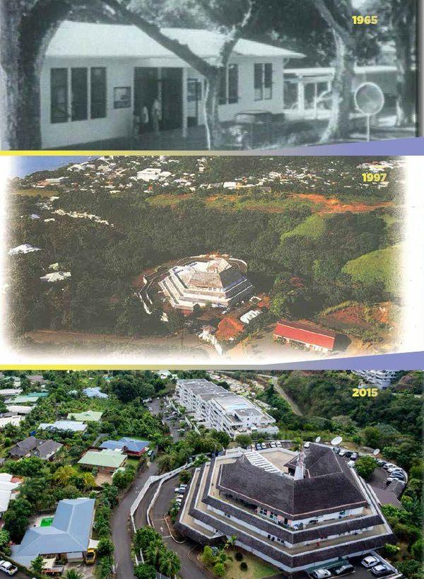 Polynésie 1ère fête les 50 ans de la télé en Polynésie. De la rue Dumont D'Urville à Pamatai...