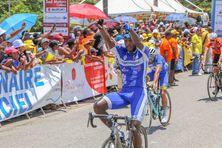 Thierry  Ragot de la Martinique triomphant à Matoury