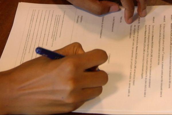 Signature emploi avenir professeur