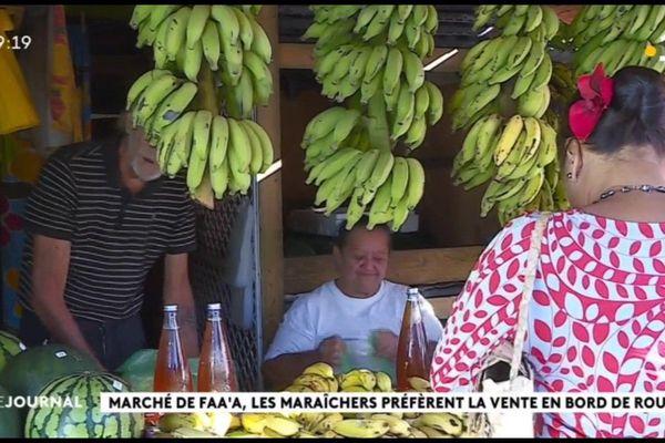 Au cœur du fenua  au marché de Faa'a