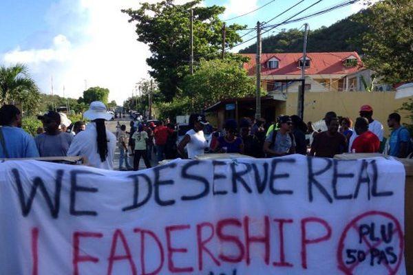 Manifestation contre le PLU